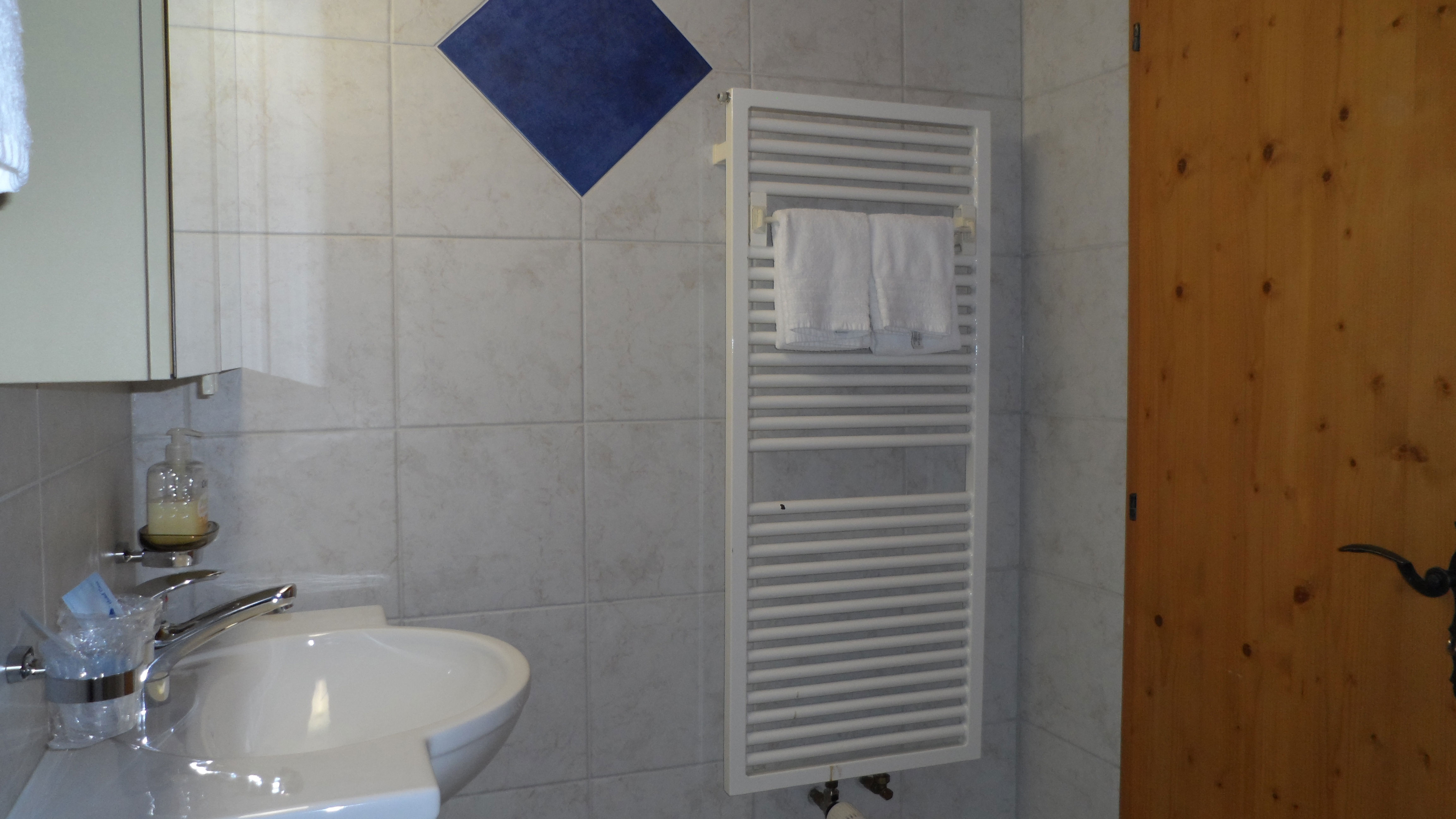 Doppelzimmer, Badezimmer