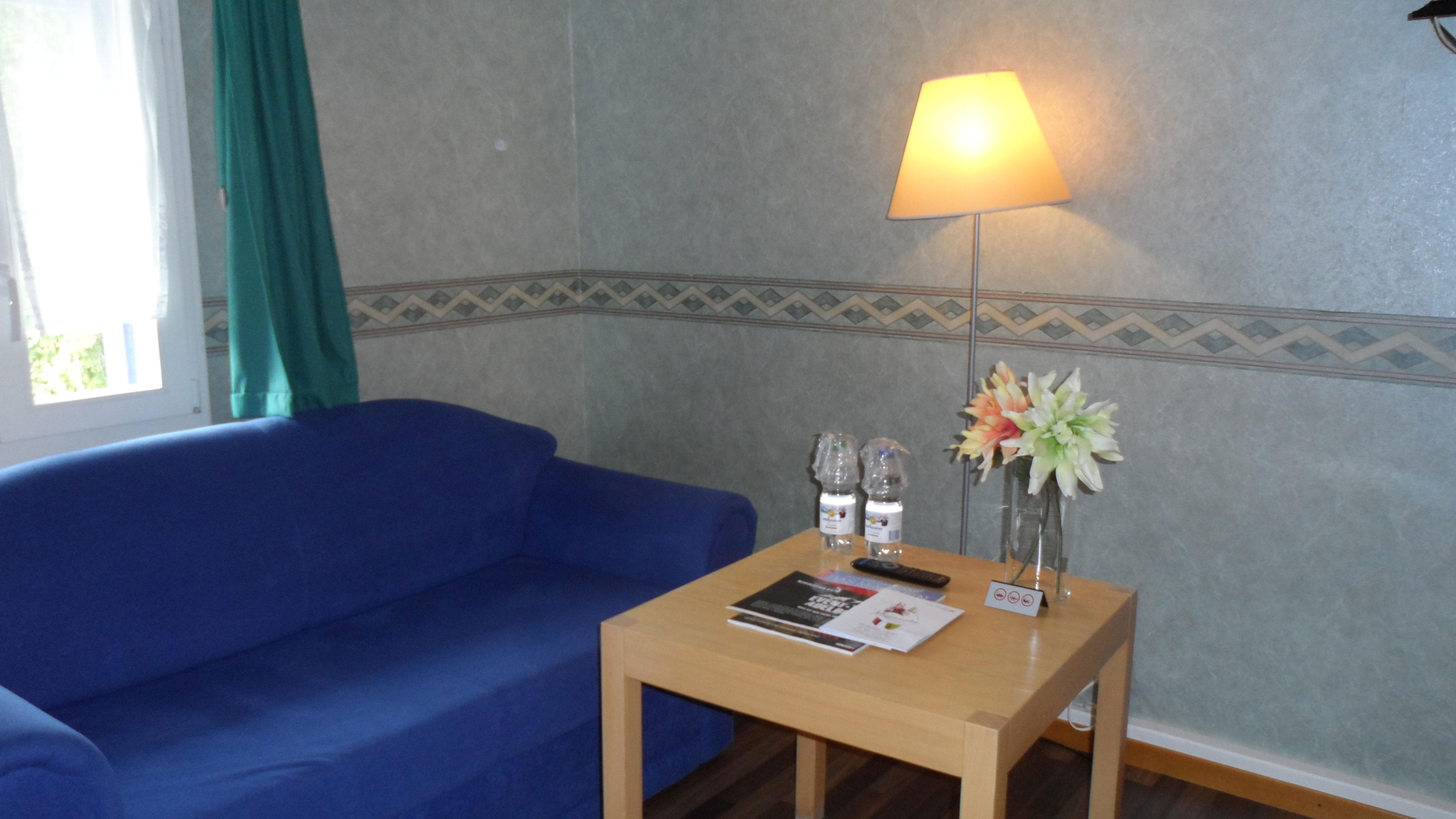Doppelzimmer - Wohnbereich / Sofa