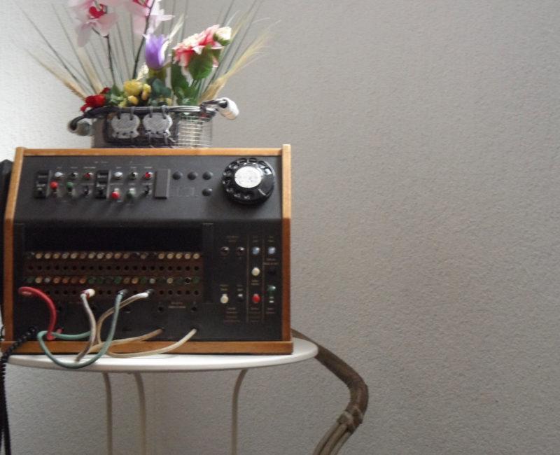 Alte Telefonanlage / Telefonvermittlung